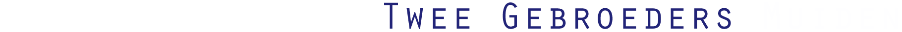 Twee Gebroeders: zeilen Muiden | Zeilen vanuit Muiden op het IJsselmeer Retina Logo